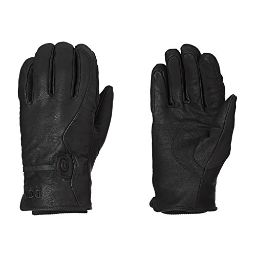 POW Snowboard Gloves - POW HD Snow Glove - Black