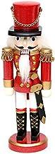 Roi//Soldat Casse-Noisette en Bois Fait Main en Bois Artisanat d/écorations de No/ël Casse-Noisette poup/ée Ornements de No/ël SOWLFE Casse-Noisette Ornements 60CM