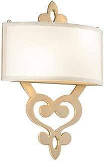 Corbett 28574144 Two Light Gold Wall Light