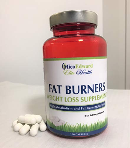 Fat Burners Weight Loss Supplement 120 Capsules