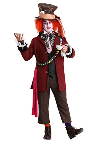 TV-Film-Mens-Stage-Accessory MAD HATTER HAT SET Fancy Dress Costume One Size