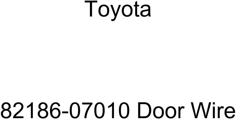 TOYOTA Genuine 2021new shipping free 82186-07010 Manufacturer regenerated product Door Wire