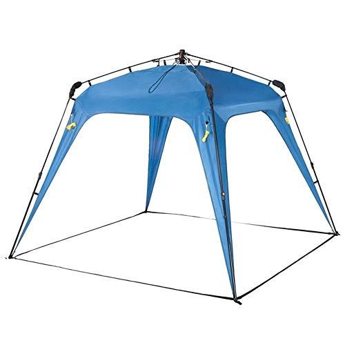 XWX 4 Ángulo De Tubos De Acero Pergola Acampar Al Aire Libre Barbacoa Parasol Playa Protector Solar A Prueba De Lluvia Toldo Multi-Persona Salvaje
