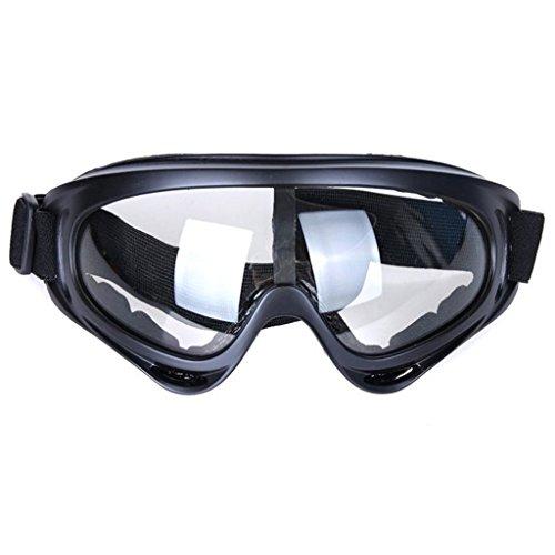 Snö glasögon vindtät UV400 cykling motorcykel snöskoter skidglasögon glasögon sport skyddsglasögon Klar M