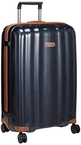 [サムソナイト ブラック レーベル] スーツケース ライトキューブ デラックス スピナー 76/28 国内正規品 保証付 96L 76 cm 3.2kg ミッドナイトブルー