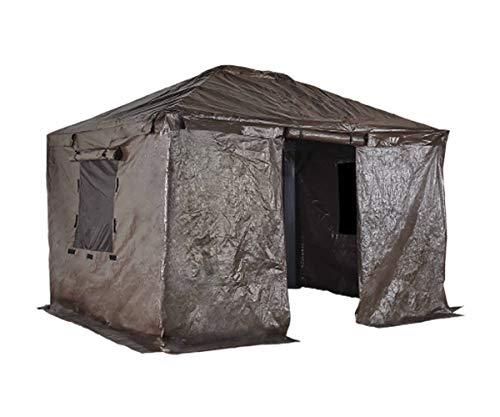 Gazebo winter cover to convert your gazebo into a shed #shed #winter #gazebo #pavillion #pavilion #gazeboideas #outdoorSpace