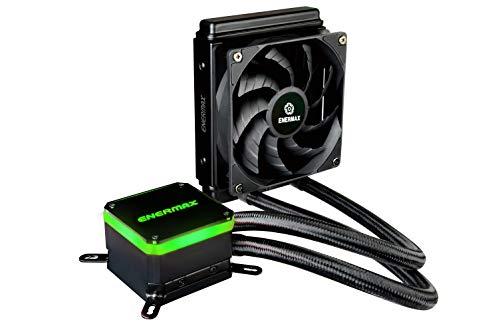 Enermax Liqmax III 120 High-Performance AIO CPU Liquid Cooler, AMD AM4/Intel LGA 1200/1151, Dual Chamber Pump, 12V 4-PIN RGB, 5-Yr Warranty (ELC-LMT120-HF)