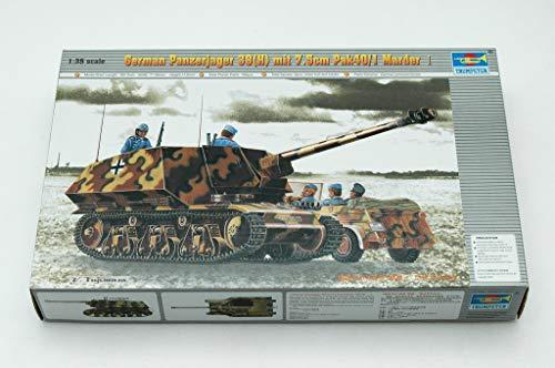 Trumpeter 00354 Modellbausatz PzKpfw 39(H) Panzerjäger mit 7,5 cm Pak 40/1 Marder