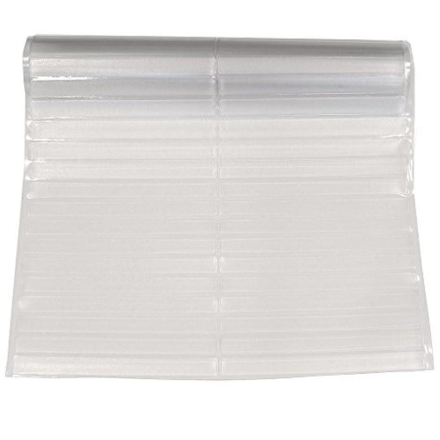 Resilia - Clear Vinyl, Plastic Floor Runner/Protector for Hardwood Floors - Non-Skid, Decorative Pattern, (27 Inches Wide x 25 Feet Long) ibtisqzldi58