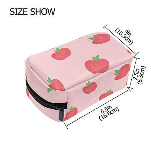 Fantaszio Trousse de maquillage pour femme Tasty Apple