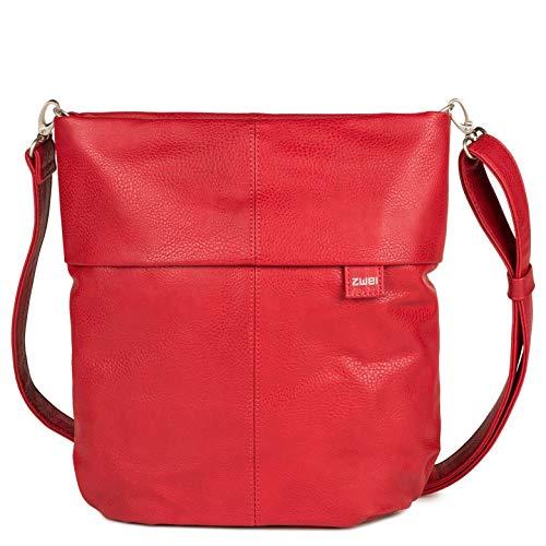 zwei Mademoiselle M12 Umhängetasche 32 cm red