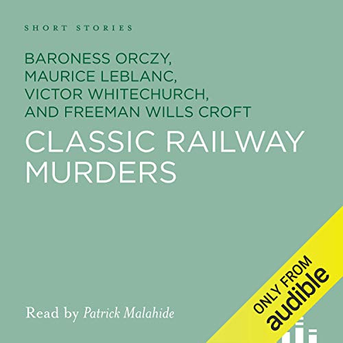 Classic Railway Murders audiobook cover art