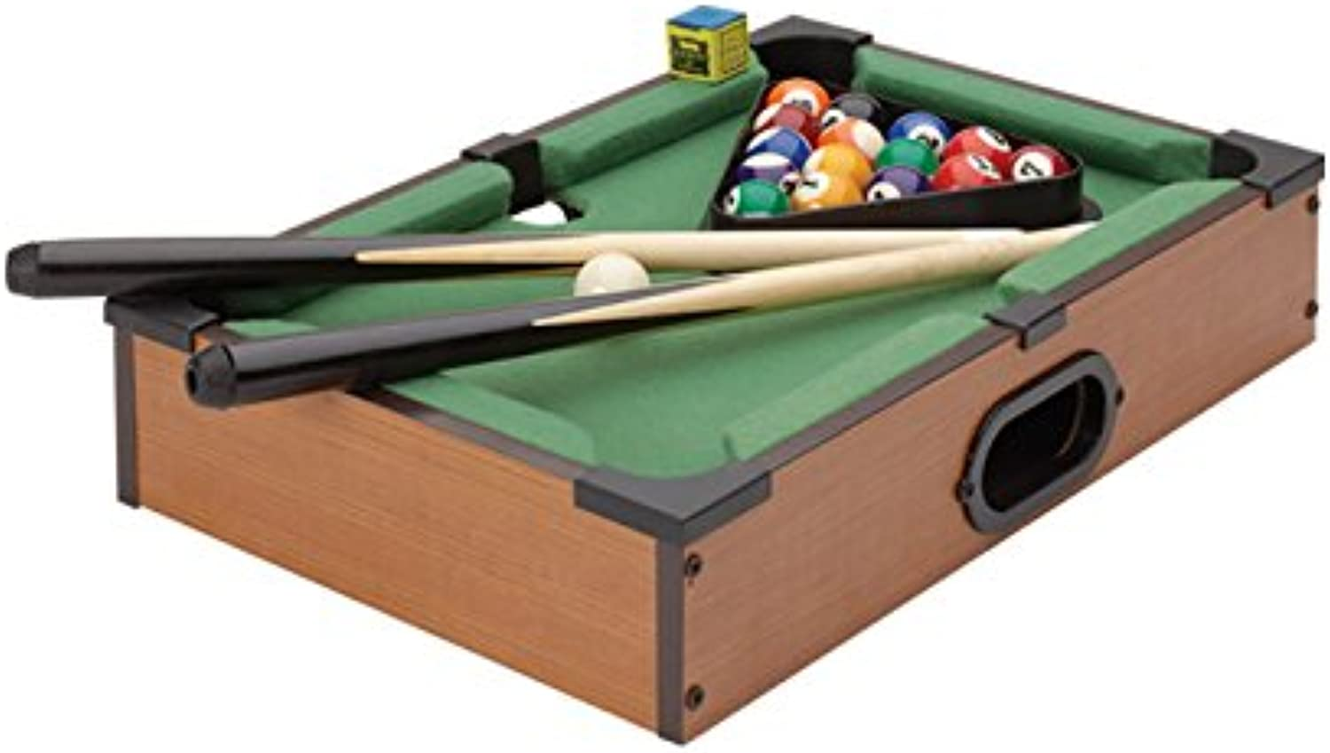 Torre & Tagus Torre & Tagus Retro Tabletop Mini Billiards Game, 940122, Plastic, MDF, Multi-colord, 14x2.75x9.25