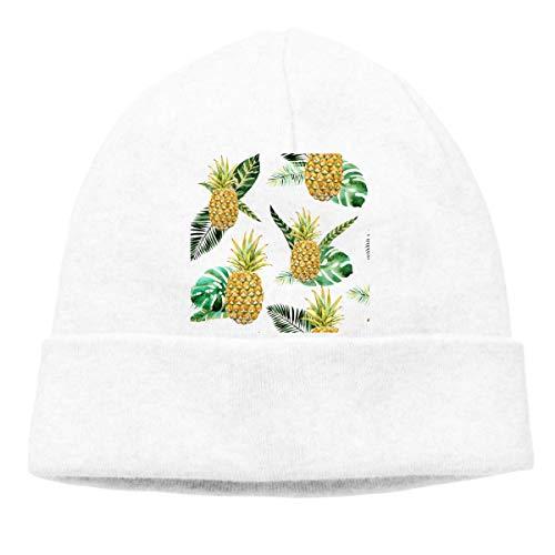 Yuanmeiju Pineapple Adult Hip Hop Breakdance Mützes Caps Unisex Soft Cotton Hedging...