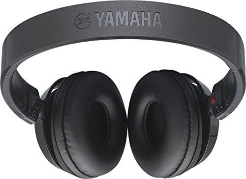 Yamaha Hph 50b Kopfhörer Schwarz Schlichter On Ear Kopfhörer Mit Hochwertigem Sound Kompaktes Design Passend Zu Yamaha Keyboards Digital Pianos Musikinstrumente