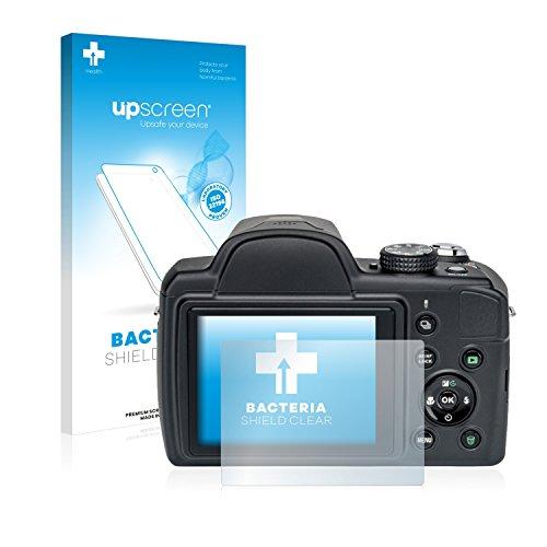 upscreen Antibakterielle Schutzfolie kompatibel mit Medion Life P44029 (MD 86929) klare Displayschutz-Folie