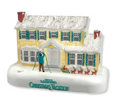"Hallmark Ornament Jahr 2010\""A Bright and Merry Christmas - The Griswold Family House aus Christmas Vacation/Schöne Bescherung mit Chevy Chase"