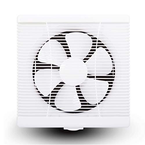QIQIDEDIAN Ventilador de Escape Cocina de 12 Pulgadas Ventilador de ventilación de Humo Fuerte Ventilador de Escape Ventana Ventilador de Escape Industrial Baño 250