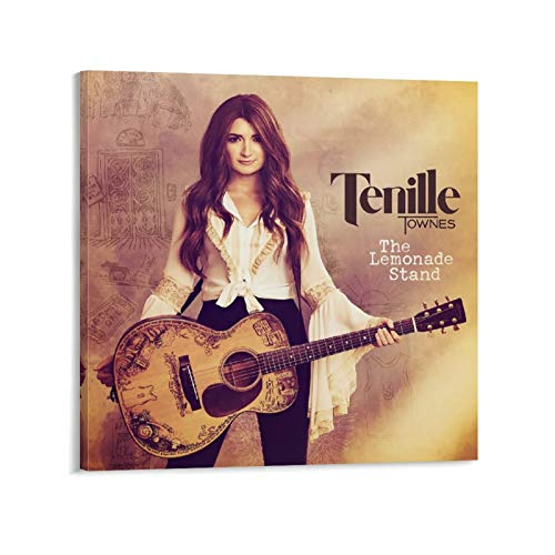 The Lemonade Stand Tenille Townes Album Canvas Art Poster and Wall Art Picture Print Modern Family Bedroom Decor Posters 20x20inch(50x50cm)