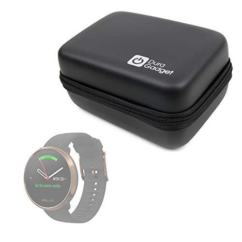 DURAGADGET Funda Rígida Compatible con Smartwatch Suunto Spartan Sport Wrist HR, Suunto 9 Baro, Polar Ignite, Montblanc Summit 2 + Mini Mosquetón