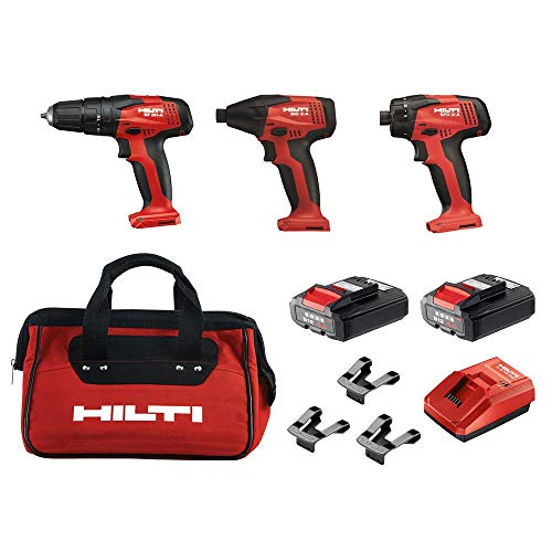 Read About Hilti 12-Volt Lithium-Ion Cordless Rotary Impact Driver/Hammer Driver/Drill and Screwdriv...