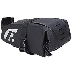 La borsa da sella per bicicletta è realizzata in tessuto PVC ed è stata testata per garantire qualità e durata. La borsa per bicicletta è realizzata con materiali impermeabili di alta qualità, che possono mantenere gli effetti personali asciutti e al...