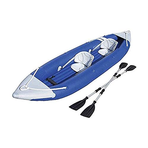 BZLLW Kayak Inflable, Espesado Inflable del Barco de Pesca, Cámara, Multi-Aire portátil en rápido Movimiento Asalto Profesional Salvavidas Kayak, por Pescador y Recreativo