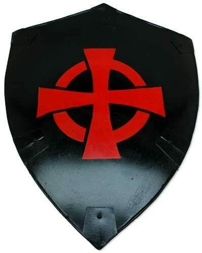 Exports Hub Bloodlust Dark Knight Germanic Middle Ages Mercenary of War Medieval Black Cross