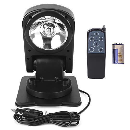 Searchlight, Duokon Searchlight ?12V 75W Car Searchlight Waterproof 360 Degree Rotation Remote Control Work Light Folding Lamp