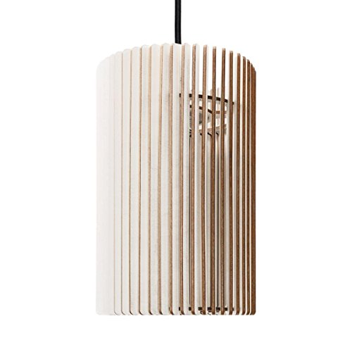 Suspension Pipa – Suspension en bois – Suspension contemporaine – plusieurs couleurs disponibles Weiss