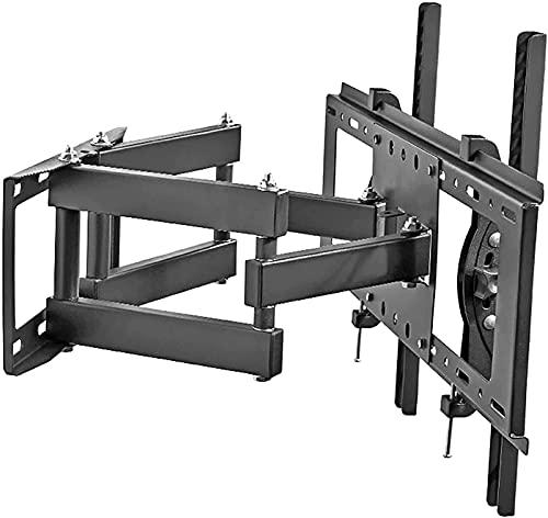 FDABFU Soporte para TV Soporte Universal de Seis Brazos para Montaje en Pared, extensión giratoria, inclinable, Compatible con la mayoría de televisores Planos de 40'-75' con (Color: Negro)