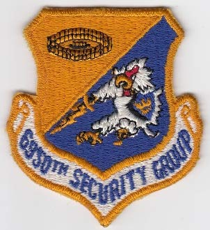 PATCHMANIA USAF Patch Intel USAFE 6950 Security GP RAF Chicksands SIGINT a 80mm 72mm Parches Bordados THERMOADHESIVE Patch