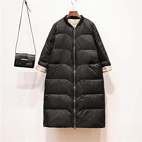 DPKDBN donsjack, donsjack vrouwen losse lange donsjas parka's vrouwelijk warme high street outwear