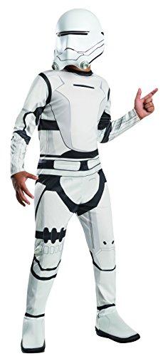 Rubie's Kinder-Kostüm, Star Wars – Das Erwachen der Macht, Sturmtruppen-Anzug Super Deluxe, Größe M, für 5–7Jahre, Größe 128–140 cm