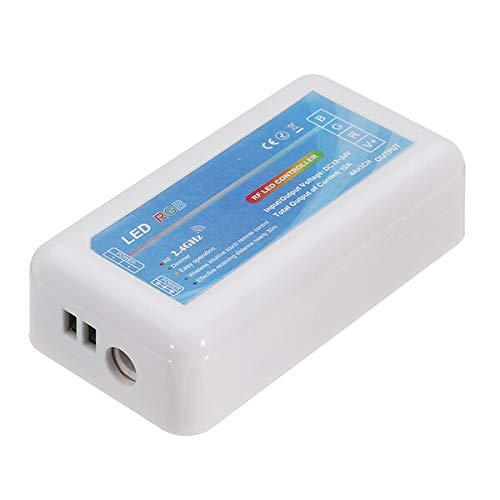 UJETML LHM DC12-24V 2.4G Touch Switch Control Remoto + Controlador LED RGB para luz de Tira (J) (Color : Three Light Colors Without Remote)