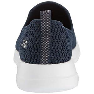 Skechers womens Go Joy Walking Shoe, Navy/White, 8.5 Wide US