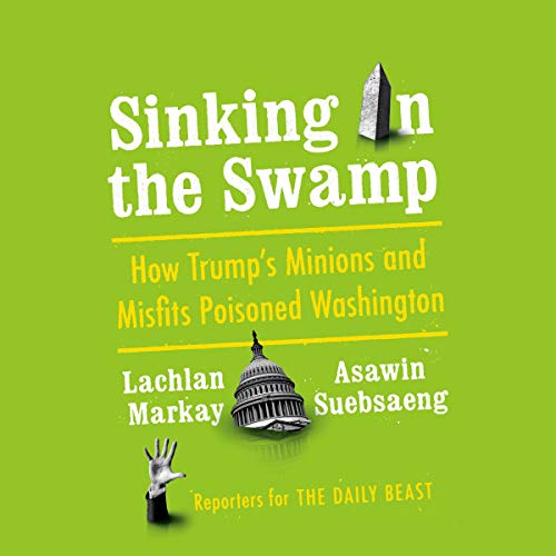 Sinking in the Swamp audiobook cover art