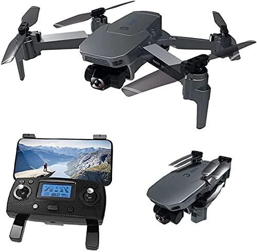 Nuevo Drone 4K HD Cámara GPS 5G WiFi FPV 2Axis Gimbal 50X Zoom Sin escobillas RC Quadcopter Drone Plegable RC (3 * batería)
