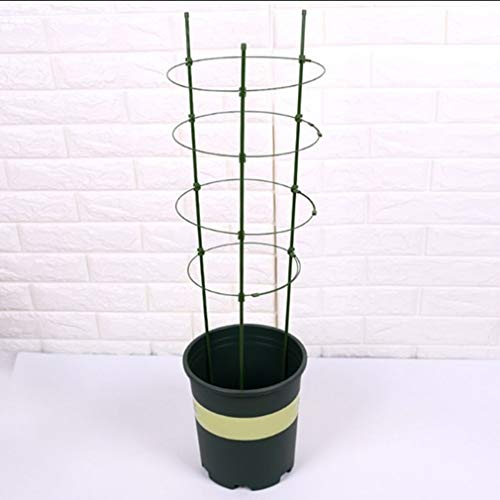 None Xiascas Cage de Support de Plante, Jardin extérieur en métal obélisque Treillis Cadre de Support de Plante grimpante pour Plants de tomates Pois de Grande Taille