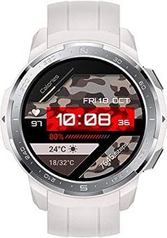 Smartwatch mit 24/7 Herzfrequenzmessung und SpO2 Monitor Robustes Design mit einem Lünettenring und Ziffernblatt aus Edelstahl Rundes 3,53 cm (1,39 Zoll) AMOLED Touch-Display Automatische Erkennung und Aufzeichnung Ihres Trainings Unterstützung von ü...