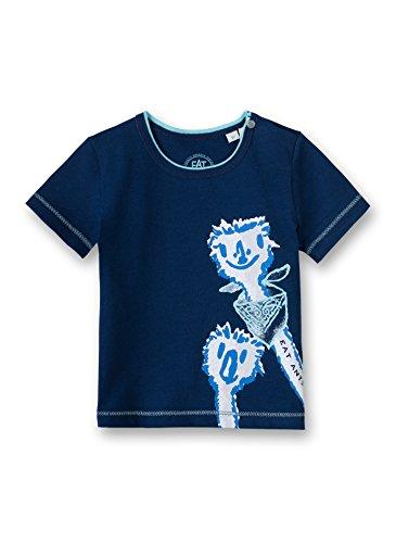Sanetta - T-shirt - Manches courtes - Bébé (garçon) 0 à 24 mois - Bleu - 3 mois