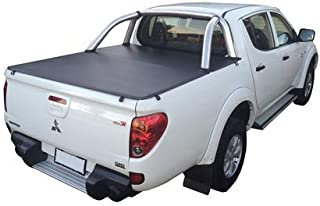 Mitsubishi Triton MN Dual Cab October 2009 to June 2015, Sports Bar GLX R Style Side Clip On Ute Tonneau Cover. Tuff Tonne...
