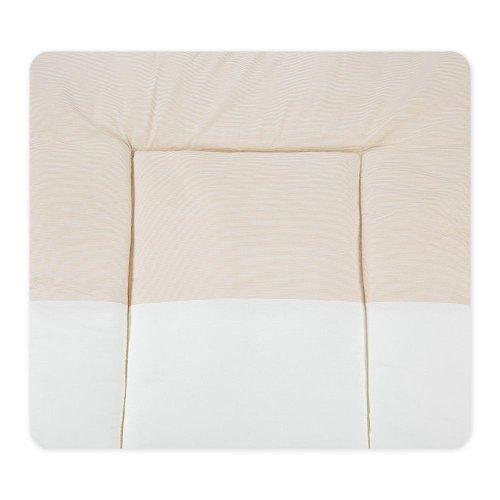 Wickelauflagen Wickeltischauflage Wickelunterlage von Sleeping Bear in Beige, Blau, Rosa, Gelb, Grün, Grau erhältlich, Farbe:Beige