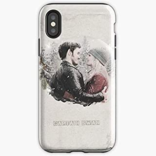 Captain Swan Emma Ouat Hook - Apocalypse Phone Case Glass, Glowing For All Iphone, Samsung Galaxy-trymeshop.