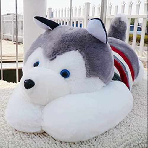 Lindo suéter Husky Siberiano Perro de Peluche Papa Perro Regalo para niños...