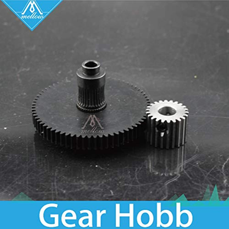 JacanaBoutique  3D Printer Parts reprap Titan Extruder Spare Parts Gear Hobb (Hardened Steel) & Stepper Motor Reprap Kossel mk8 i3