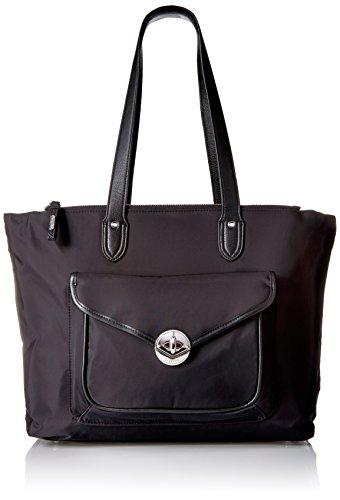 Fairfax Laptop Tote Black Shoulder Bag Bag, Black, One Size