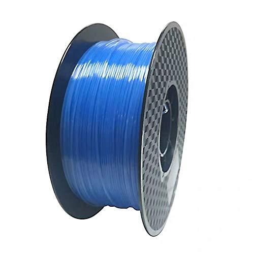 LHF PLA 3d Printer Pen Filament,1.75mm Materials,Vacuum Packaging,1kg Per Spool,3D Printing Filament Transparent Blue