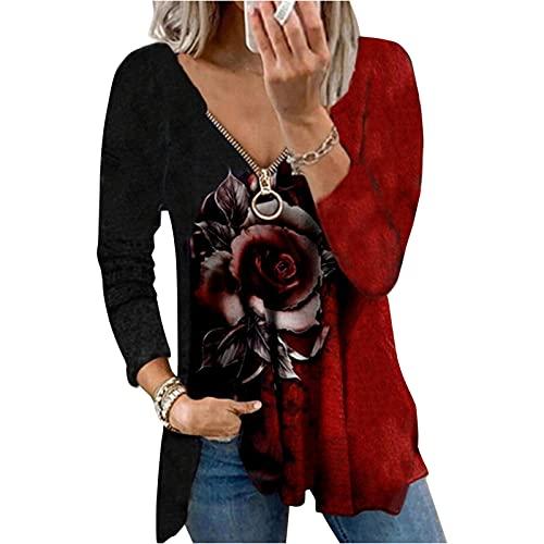 Pullover Oversize Damen bluzki damskie sexy Tunika Bluse Damen Damen Tshirt sexy blusen Damen Show Shirt uboot Ausschnitt Damen Oberteil Shirt Damen sexy