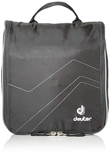 Deuter Kulturbeutel Wash Center II, Black-Titan, 25 x 24 x 9 cm, 5.4 liter